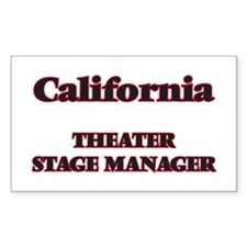 California Theater Stage Manager Decal