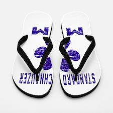 Standard Schnauzer mom designs Flip Flops