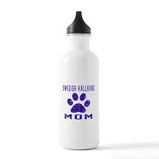 Swedish Vallhund mom d Water Bottle