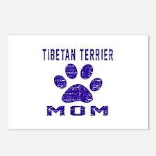 Tibetan Terrier mom desig Postcards (Package of 8)