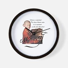 Cute Mozart Wall Clock