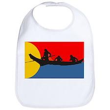 Indians in a Canoe Bib