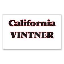 California Vintner Decal