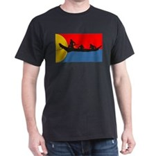 Indians in a Canoe T-Shirt