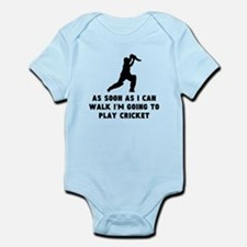 Cricket As Soon As I Can Walk Body Suit