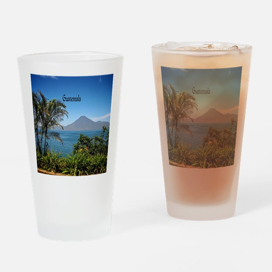 Guatemala, Nature's Beautiful Lands Drinking Glass