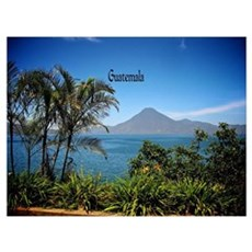 Guatemala, Nature's Beautiful Landscape Poster