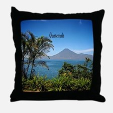 Guatemala, Nature's Beautiful Landsca Throw Pillow