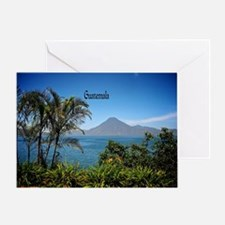 Guatemala, Nature's Beautiful Landsc Greeting Card