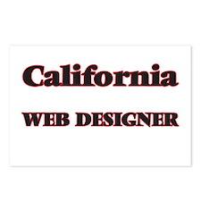 California Web Designer Postcards (Package of 8)