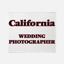 California Wedding Photographer Throw Blanket