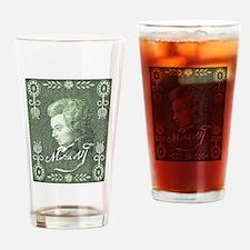 Cute Mozart Drinking Glass