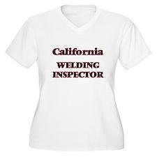 California Welding Inspector Plus Size T-Shirt