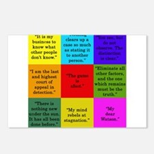 Sherlock Holmes Quotes Postcards (Package of 8)