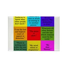 Sherlock Holmes Quotes Magnets