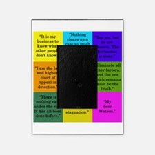Sherlock Holmes Quotes Picture Frame