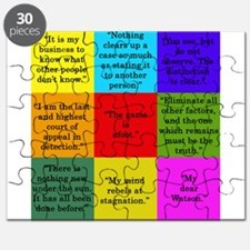 Sherlock Holmes Quotes Puzzle