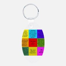 Sherlock Holmes Quotes Keychains