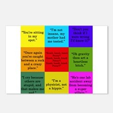 Big Bang Quotes Postcards (Package of 8)