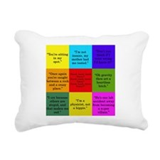 Big Bang Quotes Rectangular Canvas Pillow
