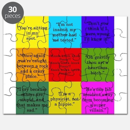 Big Bang Quotes Puzzle