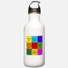 Big Bang Quotes Water Bottle