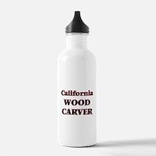 California Wood Carver Water Bottle