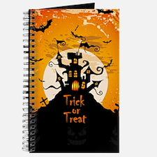 Castle On Halloween Night Journal