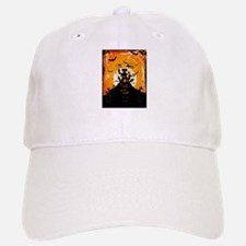 Castle On Halloween Night Baseball Baseball Cap