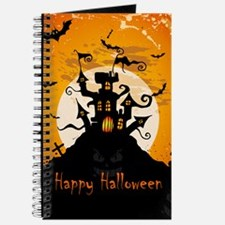 Castle On Halloween Night Journal