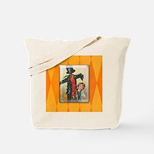 TLK004 Halloween Scarecrow Tote Bag