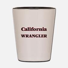 California Wrangler Shot Glass