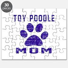 Toy Poodle mom designs Puzzle