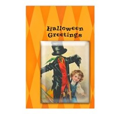 TLK004 Halloween Scarecrow Postcards (Package of 8