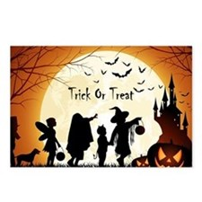 Halloween Trick Or Treat Kids Postcards (Package o
