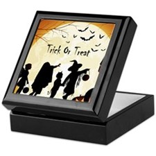 Halloween Trick Or Treat Kids Keepsake Box