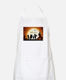 Halloween Trick Or Treat Kids Apron