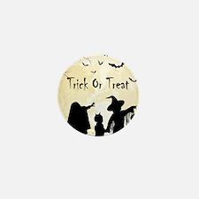 Halloween Trick Or Treat Kids Mini Button (10 pack