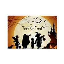 Halloween Trick Or Treat Kids Magnets