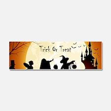 Halloween Trick Or Treat Kids Car Magnet 10 x 3
