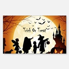 Halloween Trick Or Treat Kids Decal