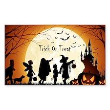 Halloween Trick Or Treat Kids Decal