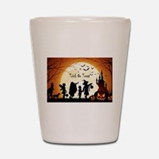 Halloween Trick Or Treat Kids Shot Glass