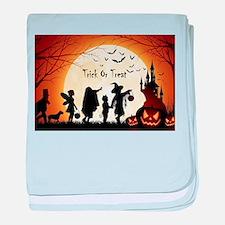 Halloween Trick Or Treat Kids baby blanket