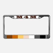 Cute Bear men License Plate Frame