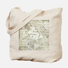 manuscript collage Tote Bag