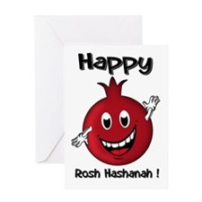 Rosh Hashanah, Fun Pomegranate Card Greeting Cards
