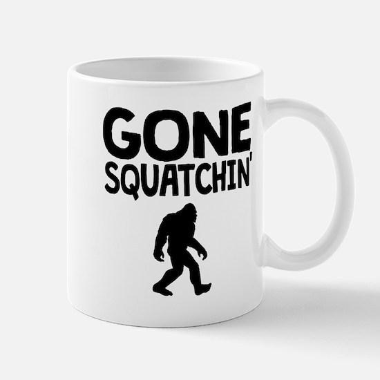 Gone Squatchin Mugs