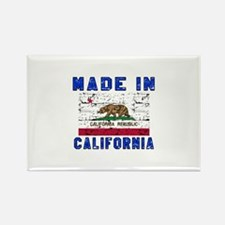 Made In California Rectangle Magnet