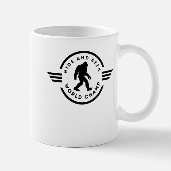 Hide And Seek Champ Bigfoot Mugs